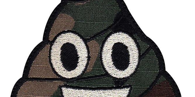 Poo Emoji Smiling Face Random - Velcro Back