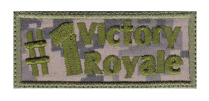 #1 Battle Royale Pubg Fortnite - Velcro Back