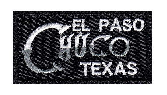 El Paso Texas Chuco Latino Mexican Spanish Slang - Glue Back To Sew On