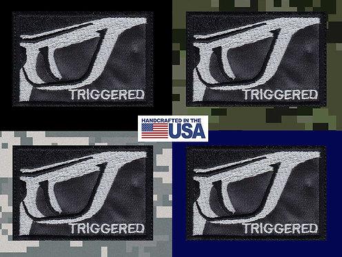Trigger Gun Funny Meme - Velcro Back