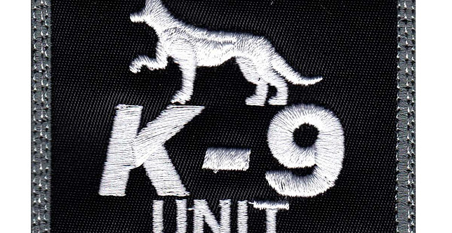 K-9 Jaws and Paws Protecting the laws - Velcro Back