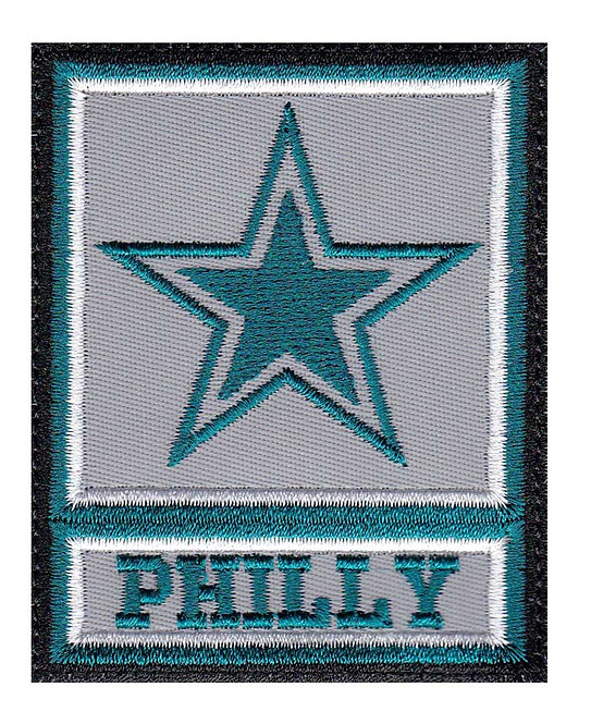Philly Philadelphia Eagles Army Star - Glue Back To Sew On