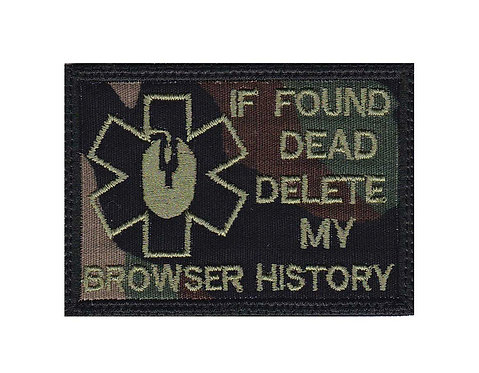 If Found Dead Delete My Browser History - Velcro Back