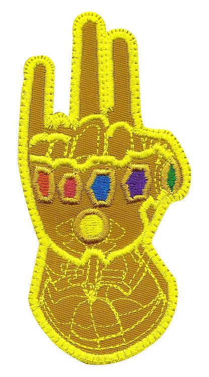 Infinity Gauntlet Stones Shocker Thanos Avengers - Velcro Back
