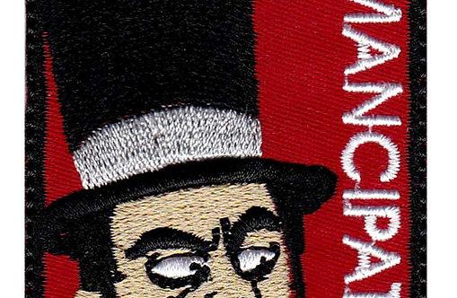 Rick And Morty Abradolf Lincler Emancipated - Velcro Back