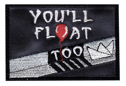 You'Ll Float Too Pennywise Gutter - Glue Back To Sew On
