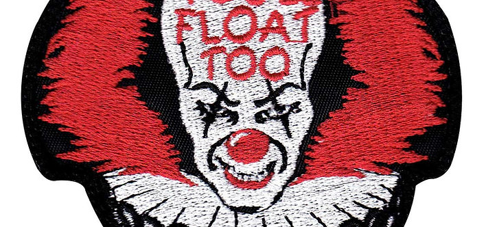 Pennywise IT You'll Float Too - Velcro Back