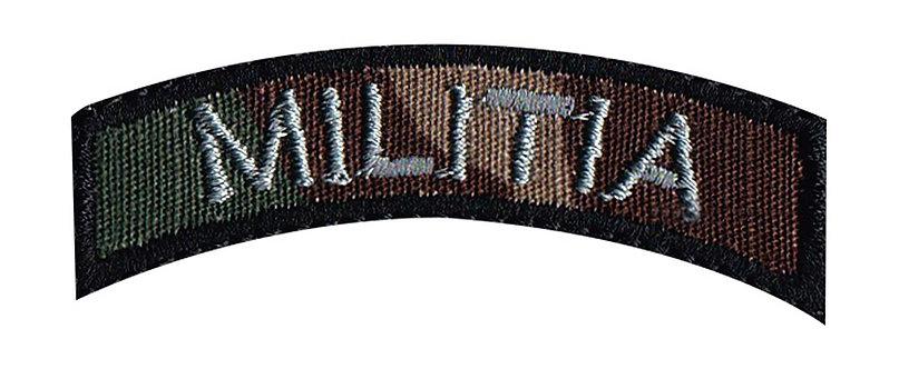 Militia Rocker - Velcro Back