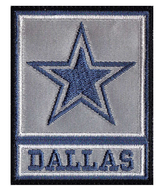 Dallas Army Rank Cowboy Parody - Glue Back To Sew On