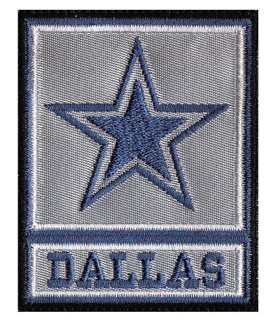 Dallas Army Rank Cowboy Parody - Glue Back To Sew On