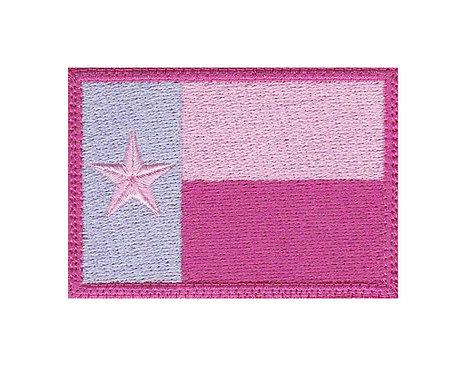 Texas Flag Womens Female Real Woman - Velcro Back