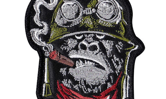 Gorilla Warfare 2 Smoking Cigar - Velcro Back