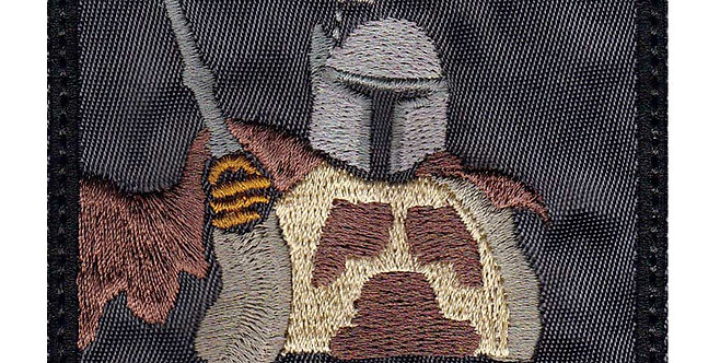 Mandalorian Bring You Cold Or Warm - Velcro Back