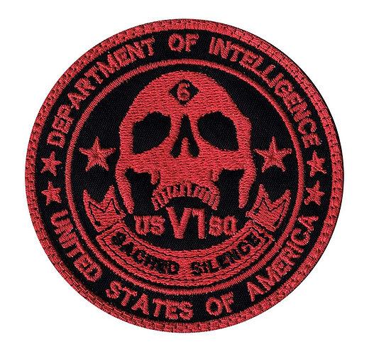 Sacred Silence Department Of Intelligence - Velcro Back