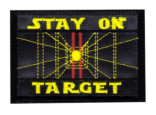 Stay On Target Star Wars Inspired - Velcro Back