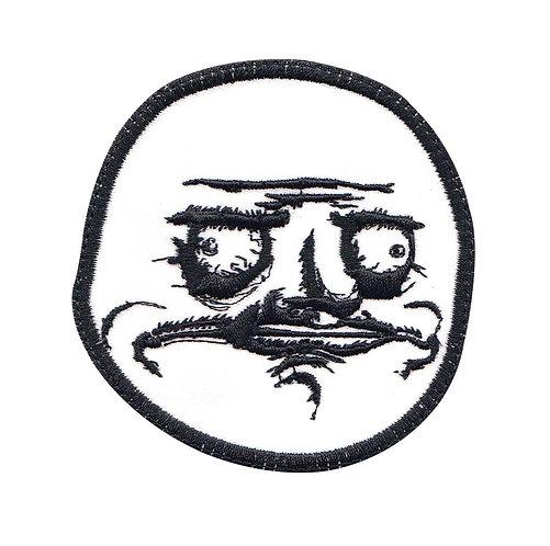 Me Gusta Meme Face Funny - Velcro Back