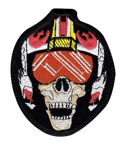 X-Wing Skull Fighter Pilot Star Wars - Velcro Back