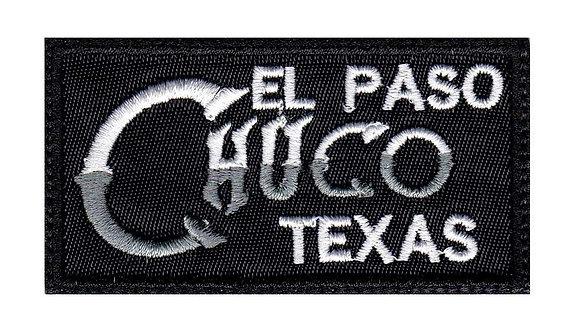 El Paso Texas Chuco Latino Mexican Spanish Slang - Velcro Back