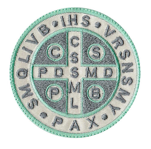 Saint Benedict Seal - Velcro Back