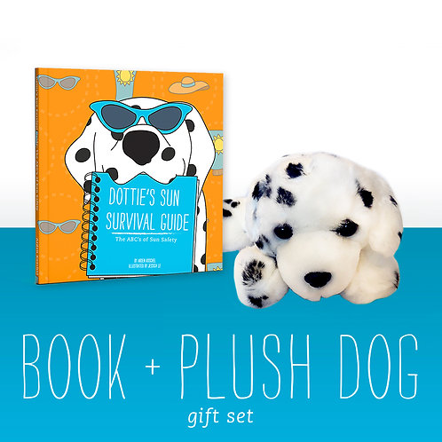 Book + Plush Dog