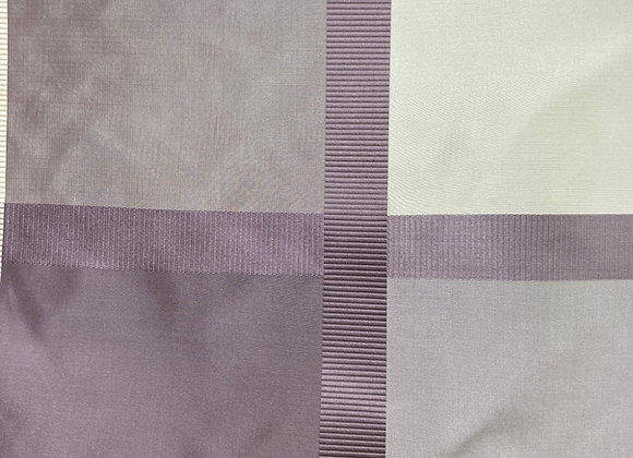 925 lavender plaid w/ white