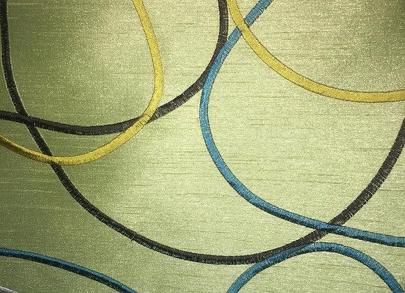 428-12  Modern Circles  Green