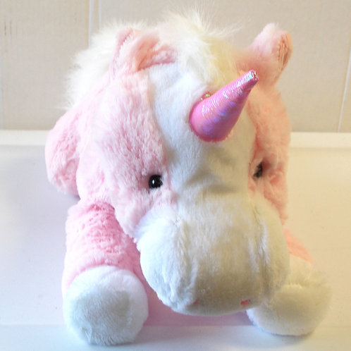Build A Friend- Pink Unicorn Unstuffed Kit