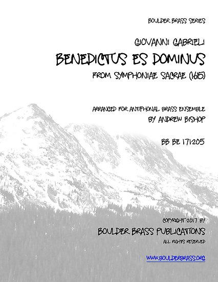 Benedictus es Dominus
