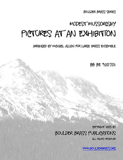 Pictures at an Exhibition (15 Piece)