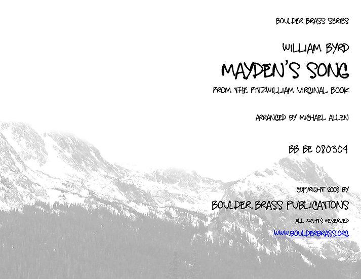 Mayden's Song