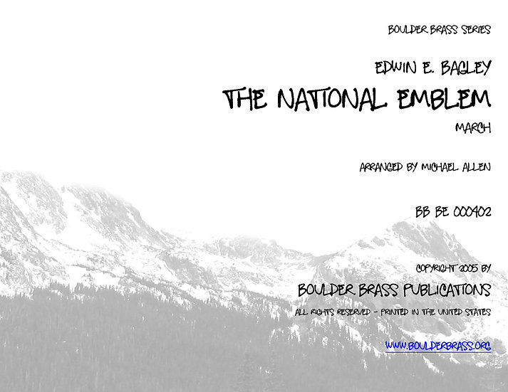 The National Emblem March
