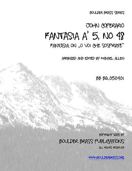 """Fantasia a 5 """"O voi che sospirate"""""""