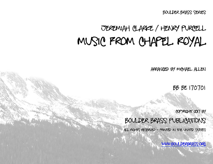 Music from Chapel Royal