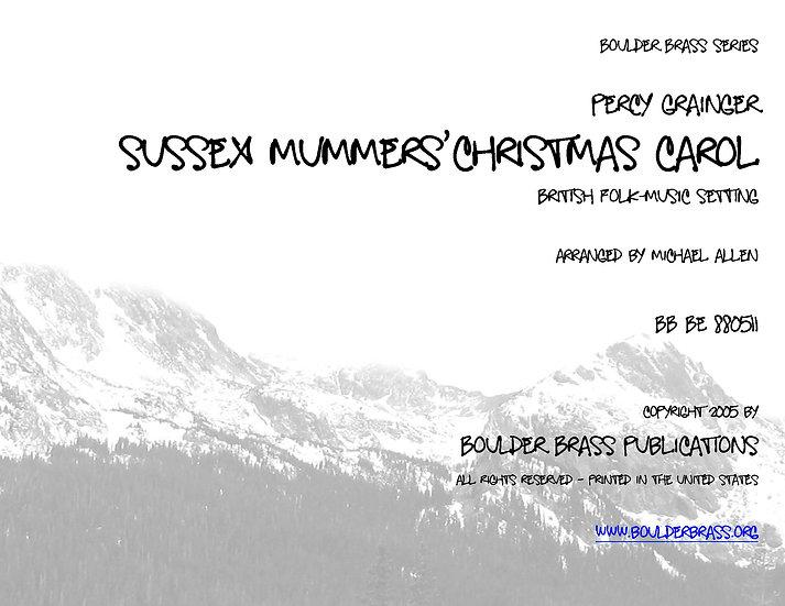 Sussex Mummers' Christmas Carol