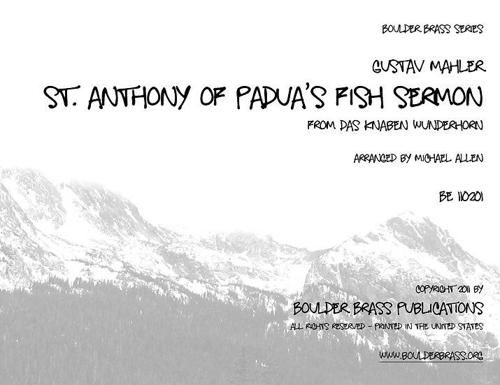 St Anthony of Padua's Fish Sermon