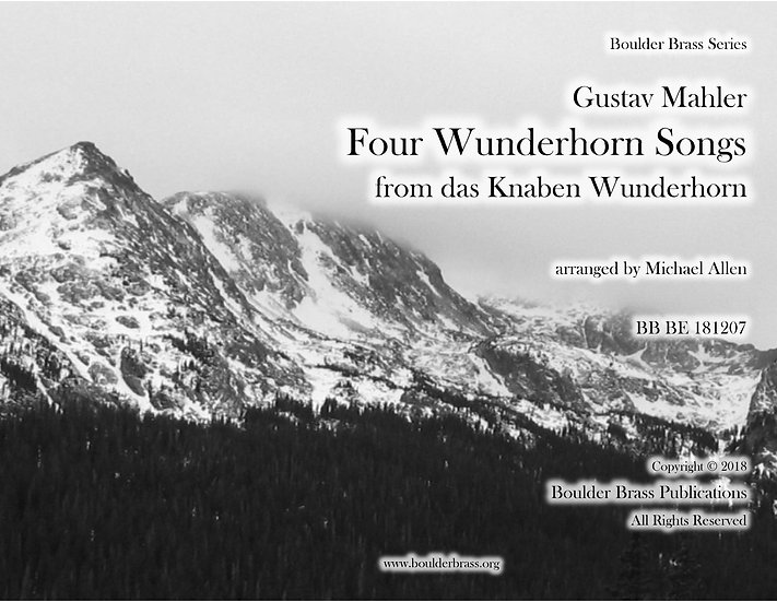 Four Wunderhorn Songs
