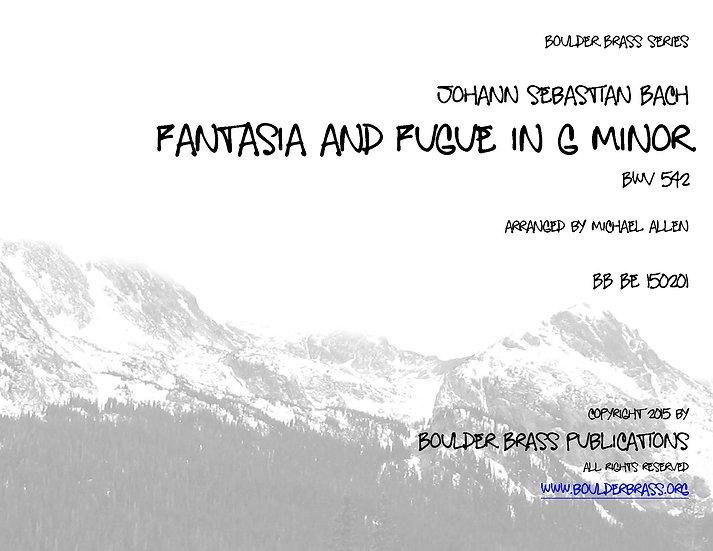 Fantasia & Fugue in g minor