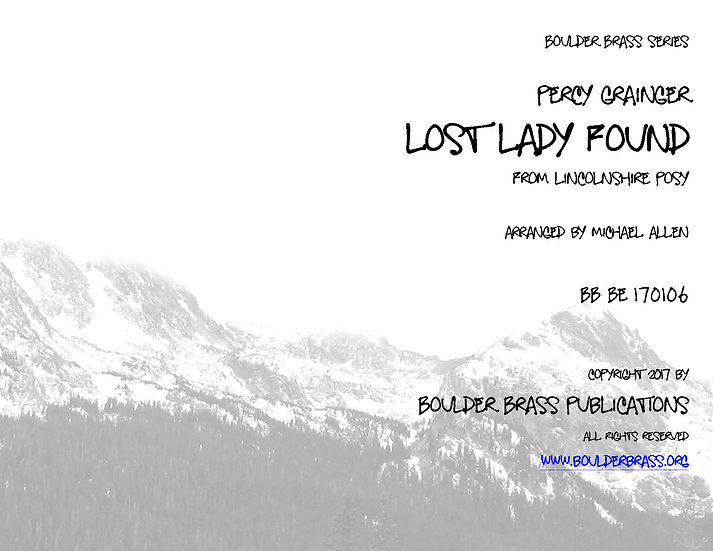 The Lost Lady Found