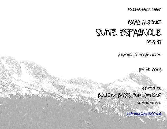 Suite Espagnole, Opus 47