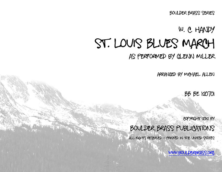 St Louis Blues March