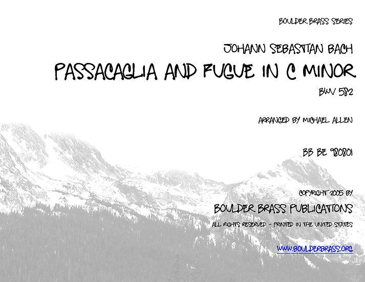 Passacaglia & Fugue in c minor