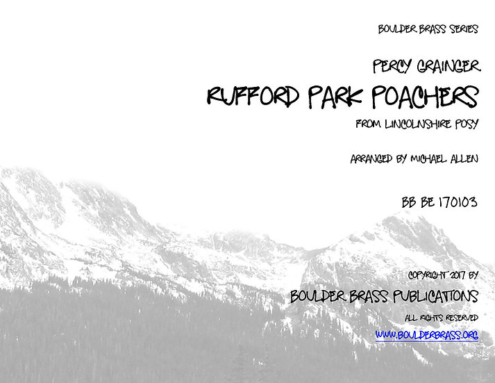 Rufford Park Poachers