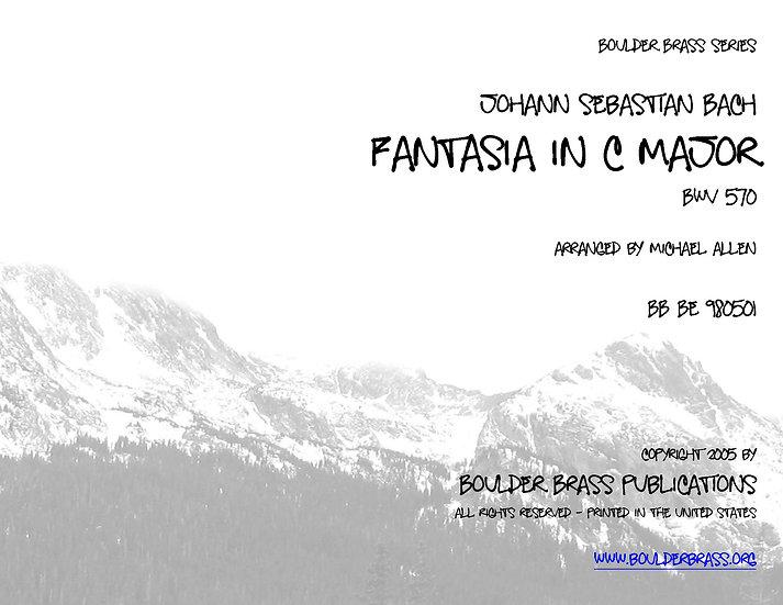 Fantasia in C major