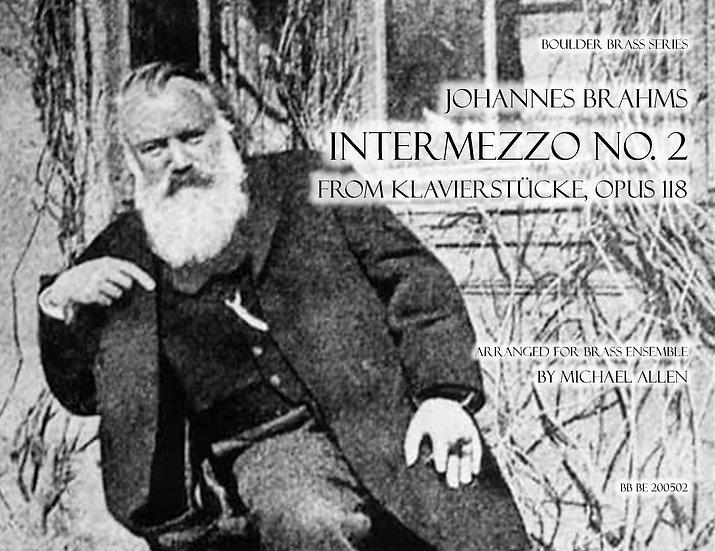 Intermezzo Opus 118, No. 2