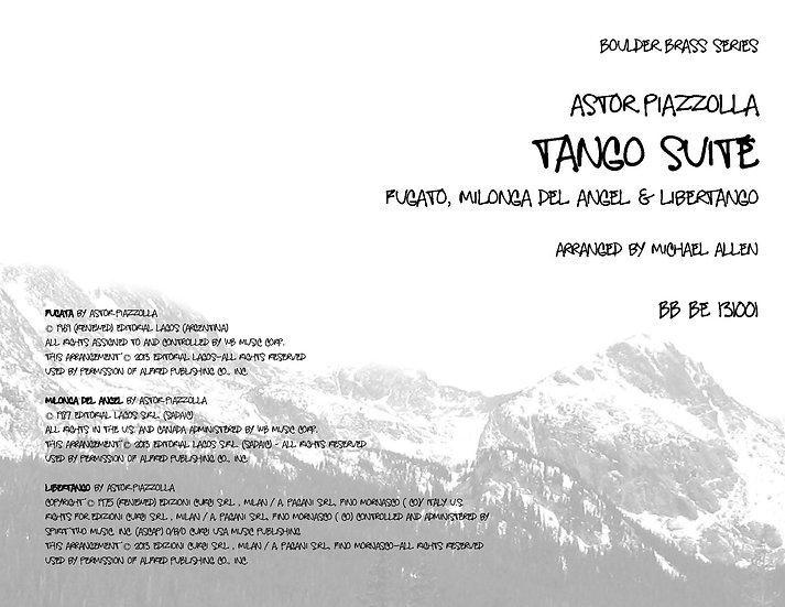 Tango Nuevo Suite