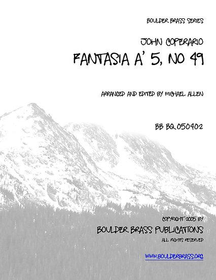 Fantasia a 5, No. 49