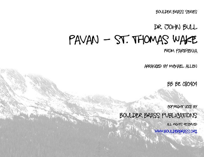 Pavan - St Thomas Wake