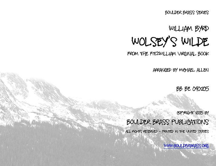 Wolsey's Wilde