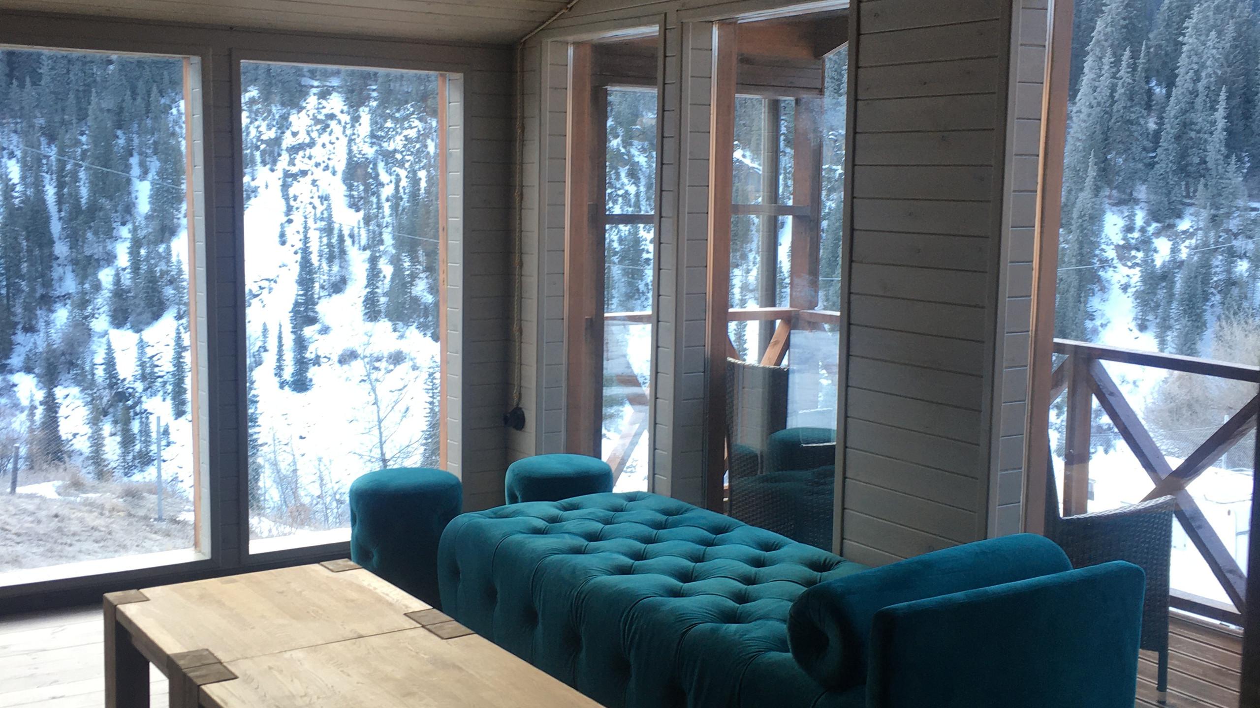 Accomodation at Kolsay Lakes