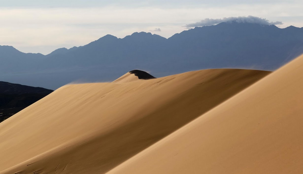 Singing Dune in Altyn Emel NP
